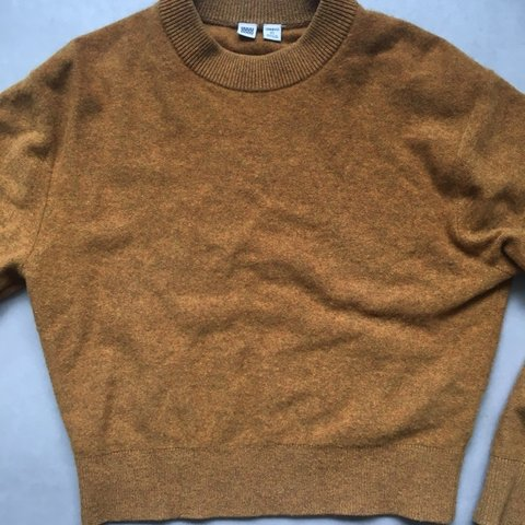 b45c4039 Uniqlo U premium lambswool sweater/jumper (by Lemaire) in a - Depop