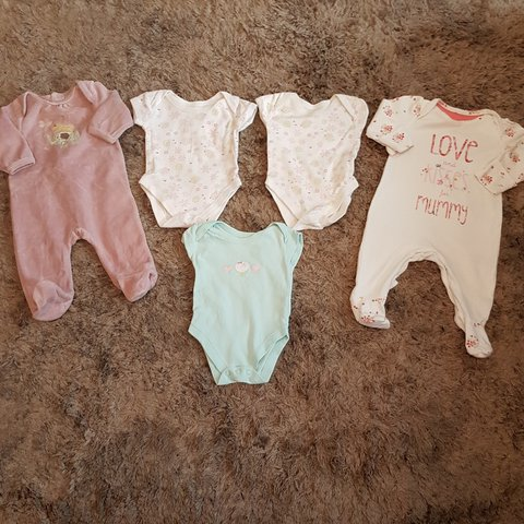 7ed68031 @avaamay. 4 months ago. United Kingdom. Baby girl mothercare clothes bundle