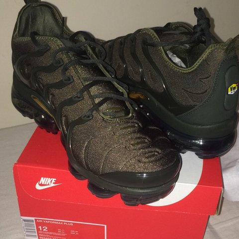 d215fe3e61 @neso13. last year. Kingsnorth, United Kingdom. Nike Air Vapormax Plus  Cargo Khaki ...