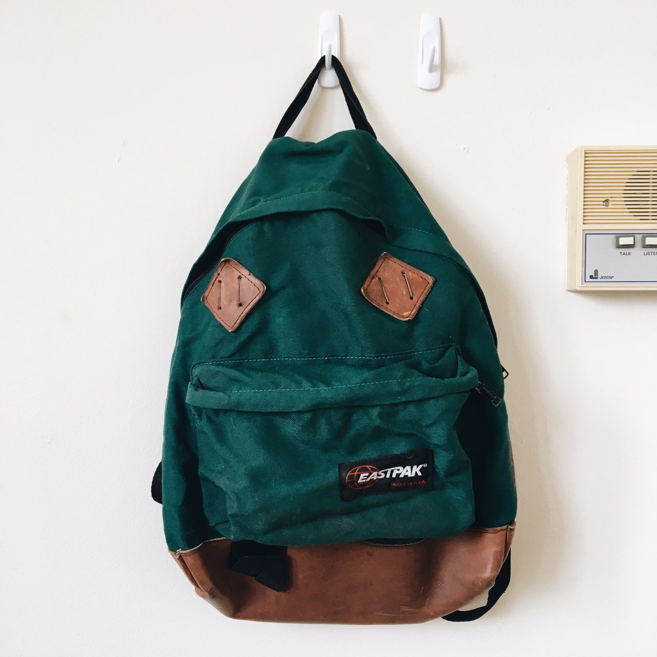 Vintage Backpack! Eastpak. Worn in and well loved but still - Depop
