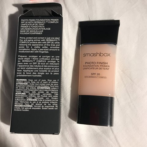 Brand New Unused Smashbox Photo Finish Foundation Primer Spf Depop