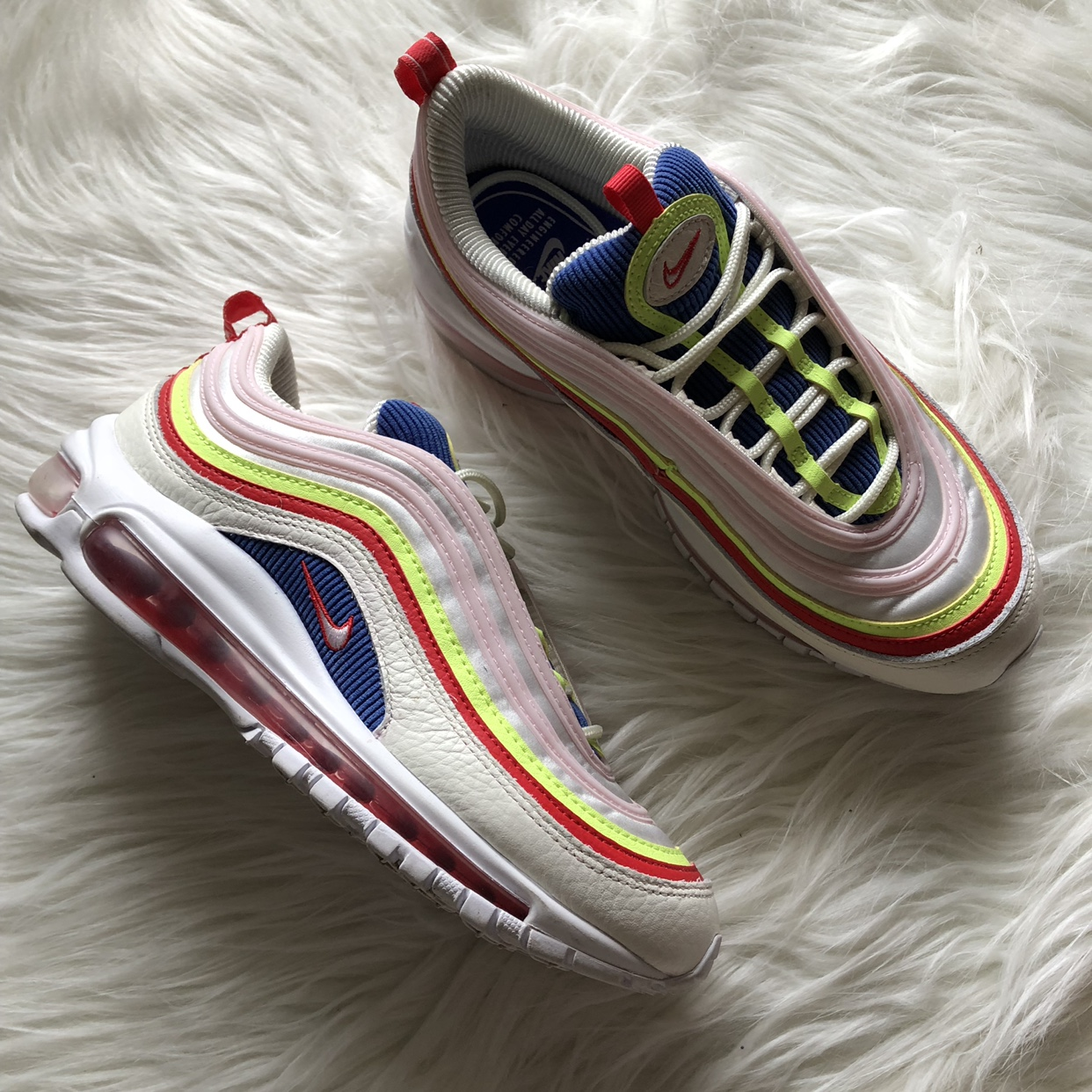 Air Max 97 corduroy Great condition. Only worn a Depop