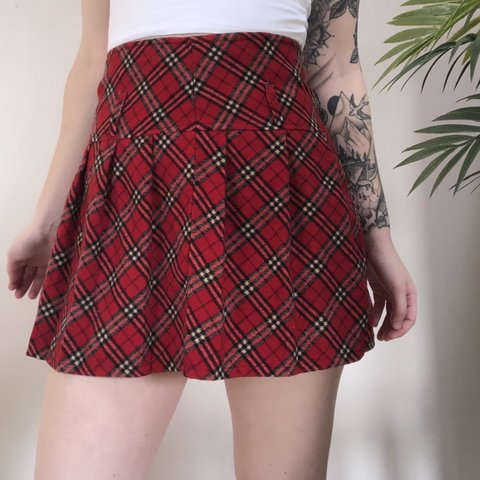dce7d1ca5f2f @illmaticvintage. 6 months ago. North Tonawanda, United States. Vintage  classic plaid pleated mini skirt.