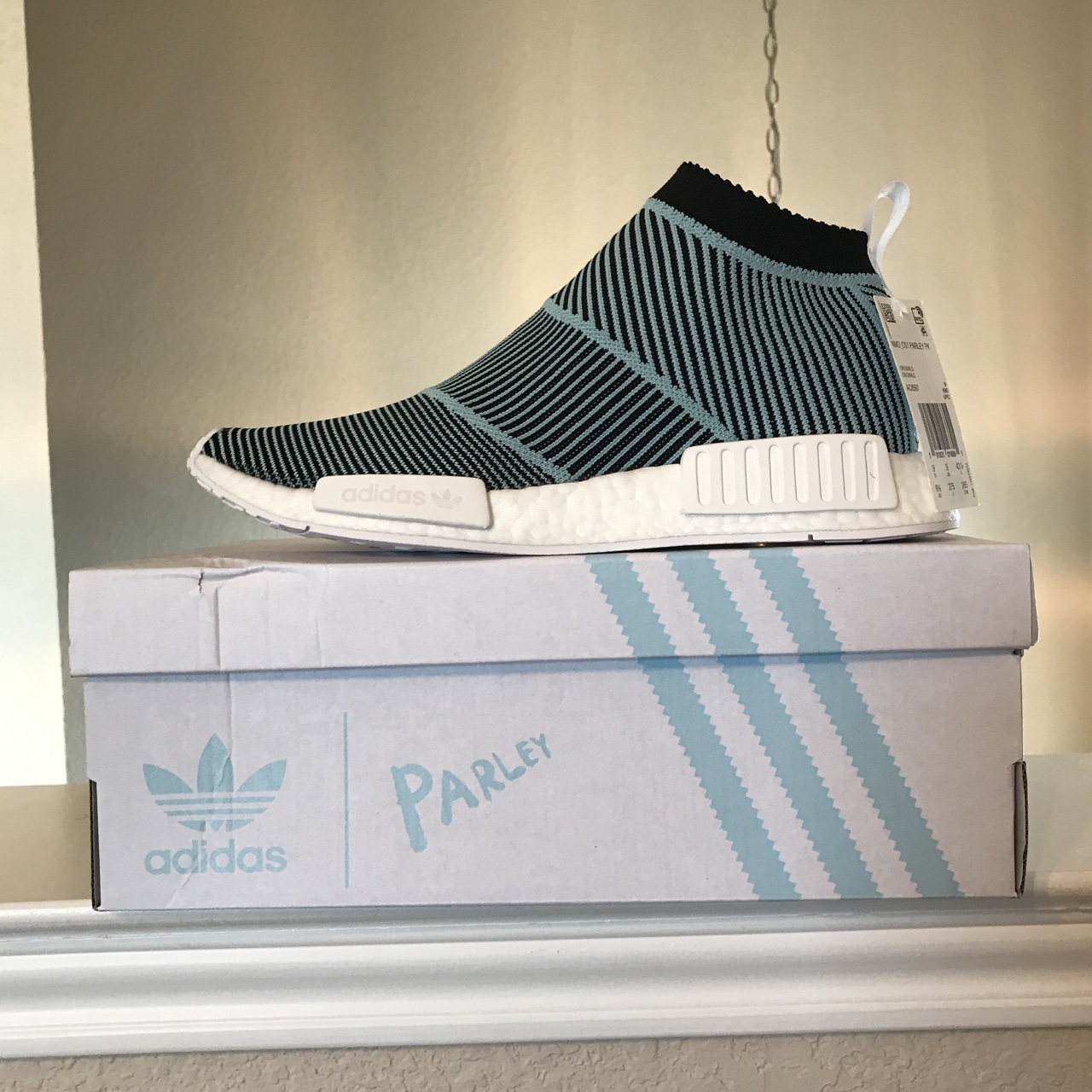 separation shoes 8b642 692ea Brand New NMD_CS1(City Sock) Parley PK. Size 9 1/2 ...
