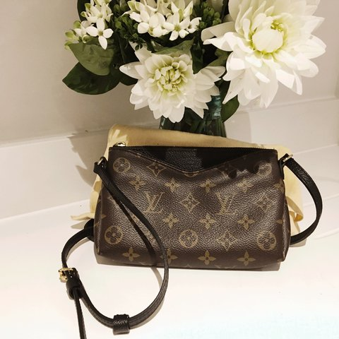 a59831fcd @chloe_bstn. 2 years ago. London, United Kingdom. Authentic LV Crossbody Bag  Monogram Canvas lined with ...