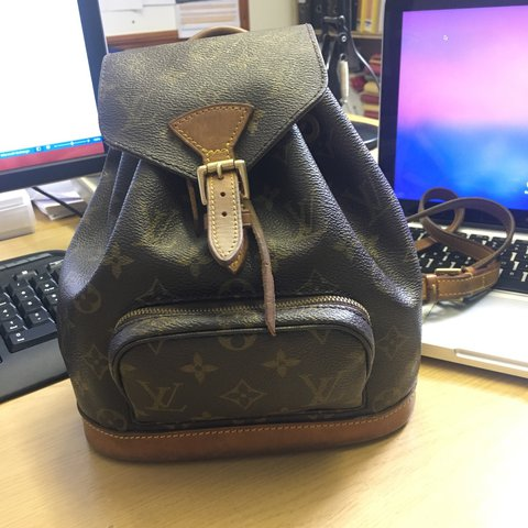 Louis Vuitton Montsouris PM Small backpack bag. This was a - - Depop 66107a8660117