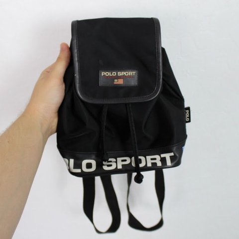 """b68a5eb4a0 Vintage 90 s Polo Sport by Ralph Lauren Mini Backpack 10"""") - Depop"""