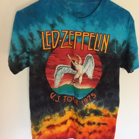 ad0b3bc25aa Led Zeppelin tee 🌈 men s size S brand new 🌼💫  womans - Depop