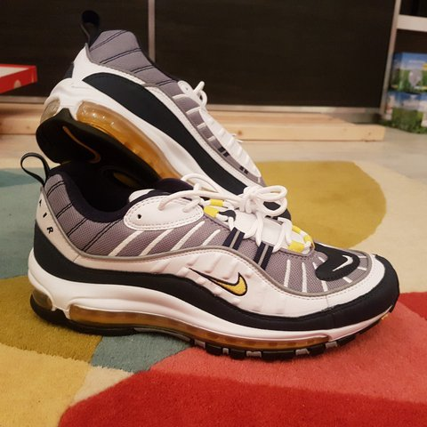 9ca2d20c10 Nike air max 98 og colorway fearless 90s, brand new never or - Depop