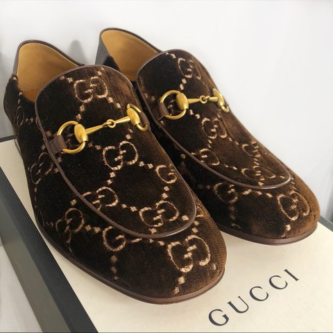 919f79436 100% Authentic Brand New, Never Worn, Gucci Horsebit GG with - Depop