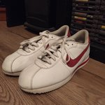 ed59fe125cf5a Nike Cortez brown leather Uk10.5 Used but in good condition - Depop
