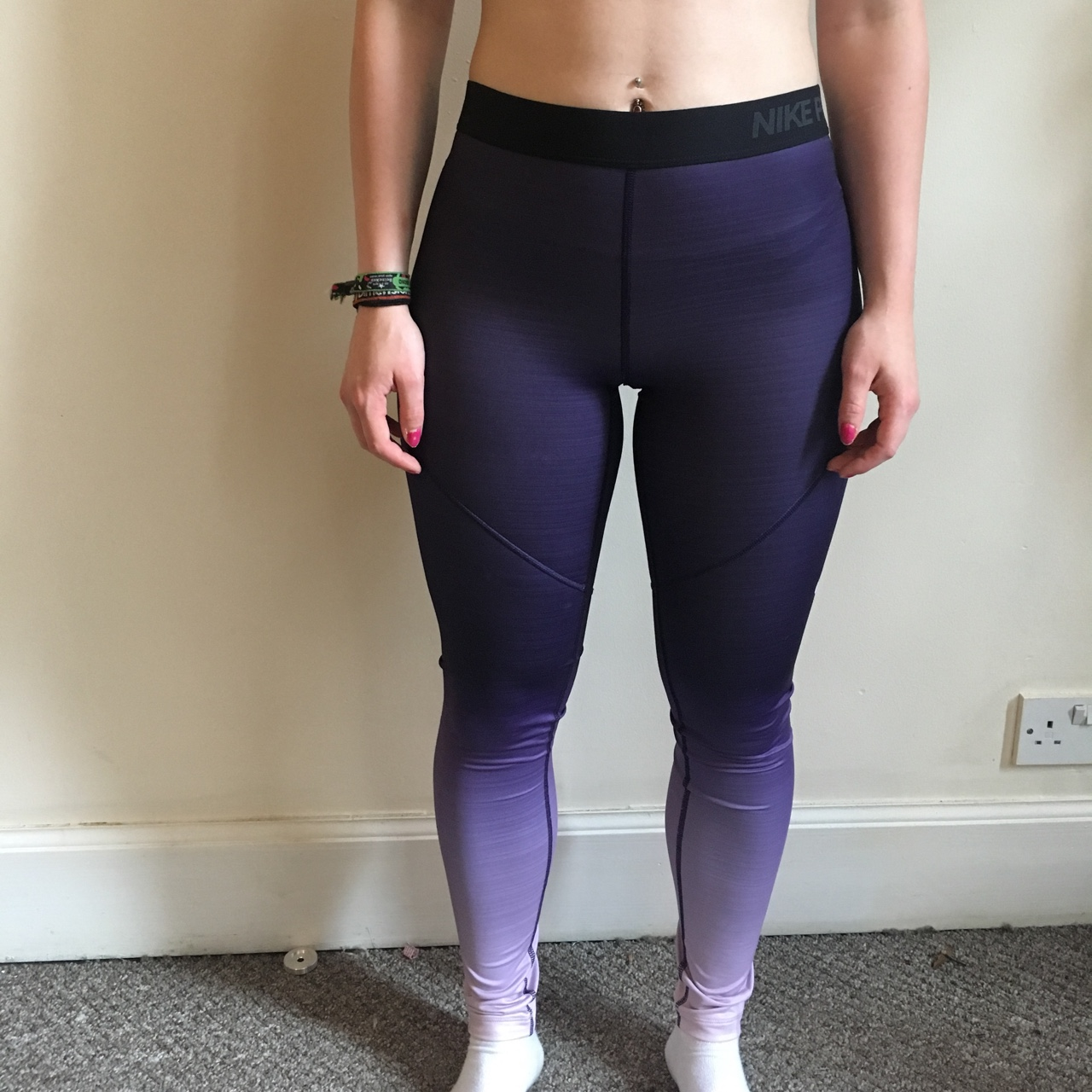 nike leggings ombre