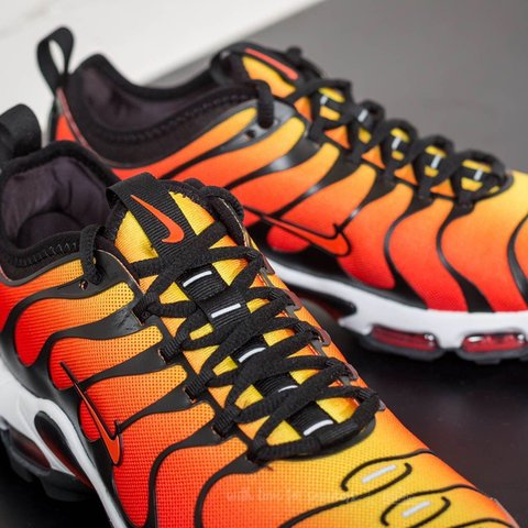 "online store 5108c ec6ba Air max TN "" Tiger "" Red and orange 9.5 10 Will post own of - Depop"