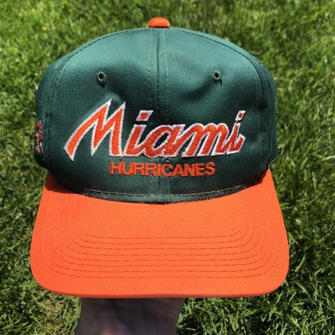 4e89f107fcad93 @zor1n. 4 days ago. West Milton, United States. Vintage 1990s Miami Hurricanes  sports specialties Script The Twill snapback hat!