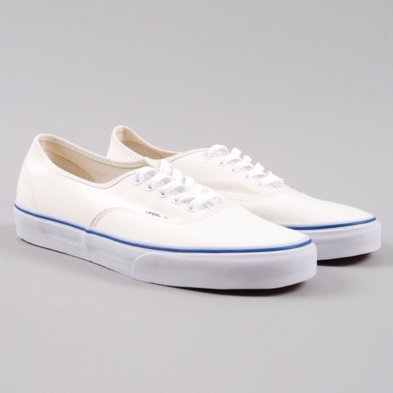 vans  authentic  cream  shoes - Depop 070226d327