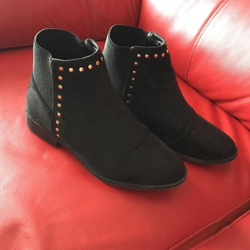 Matalan wide fit boots Worn twice so