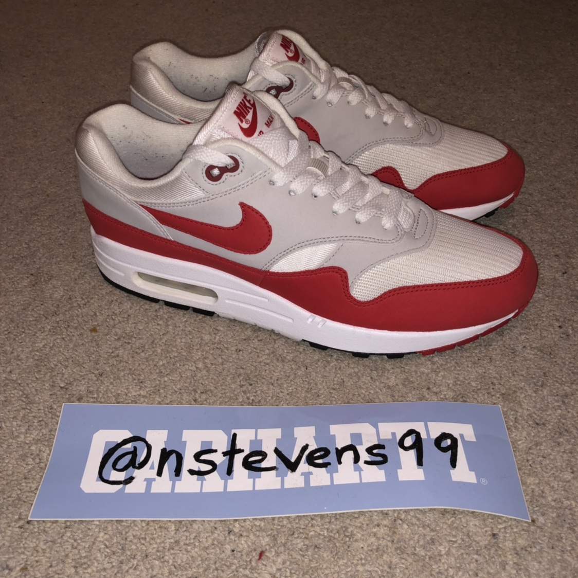 Nike Air Max 1 OG Anniversary (2017) size UK 8 Comes