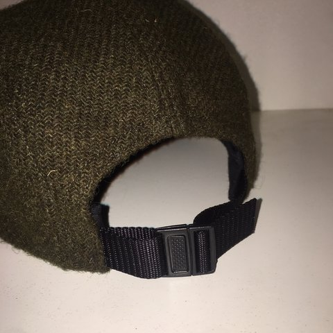 de76e28a0a0 Olive Supreme Featherweight Wool Camp Cap (FW17) In perfect - Depop