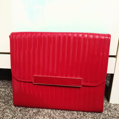 95b21a41395 @keelyanntrainor. 2 years ago. Eston, United Kingdom. Ted Baker red clutch  bag ...