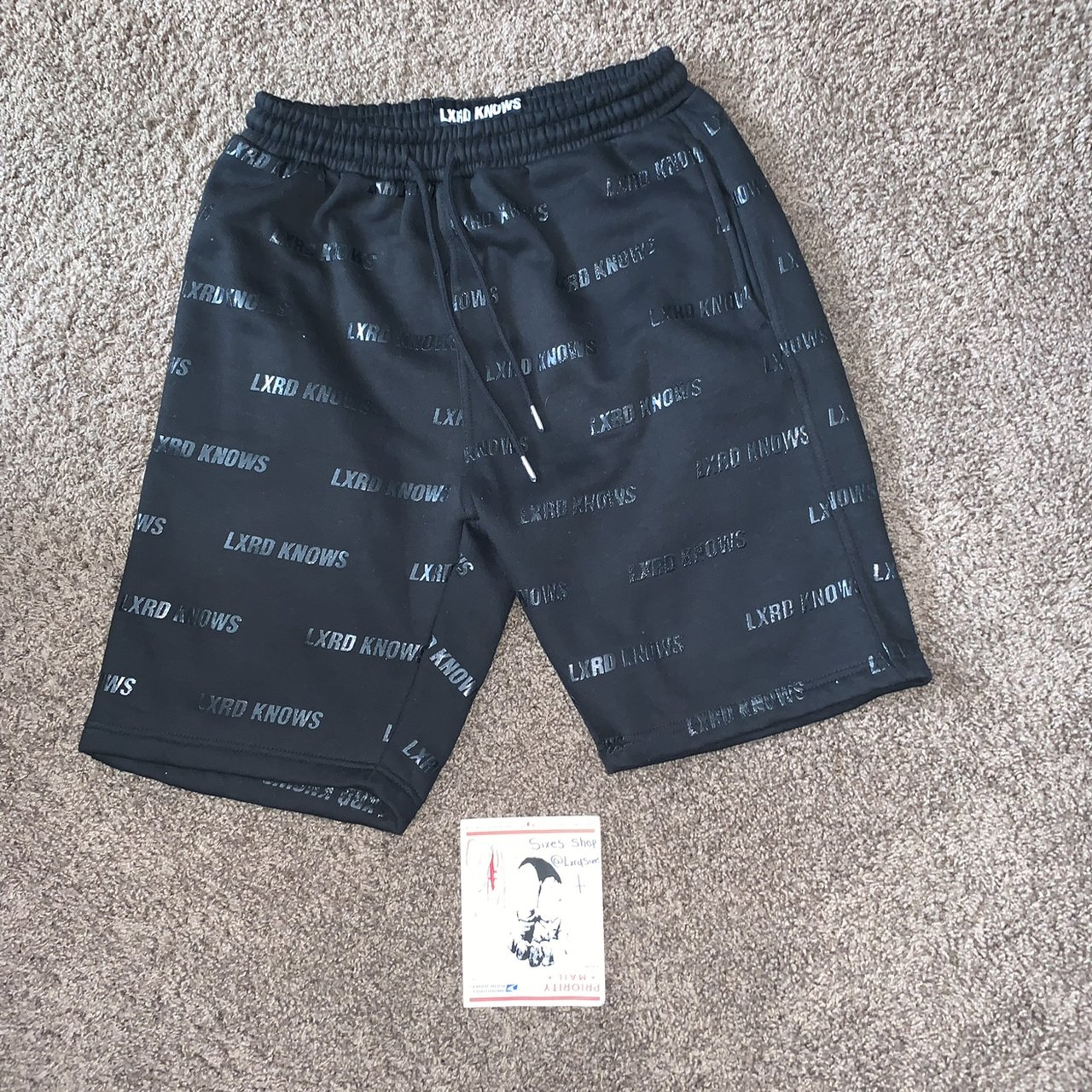 f0c7afa1757c Lxrd Knows All Over Shorts Color
