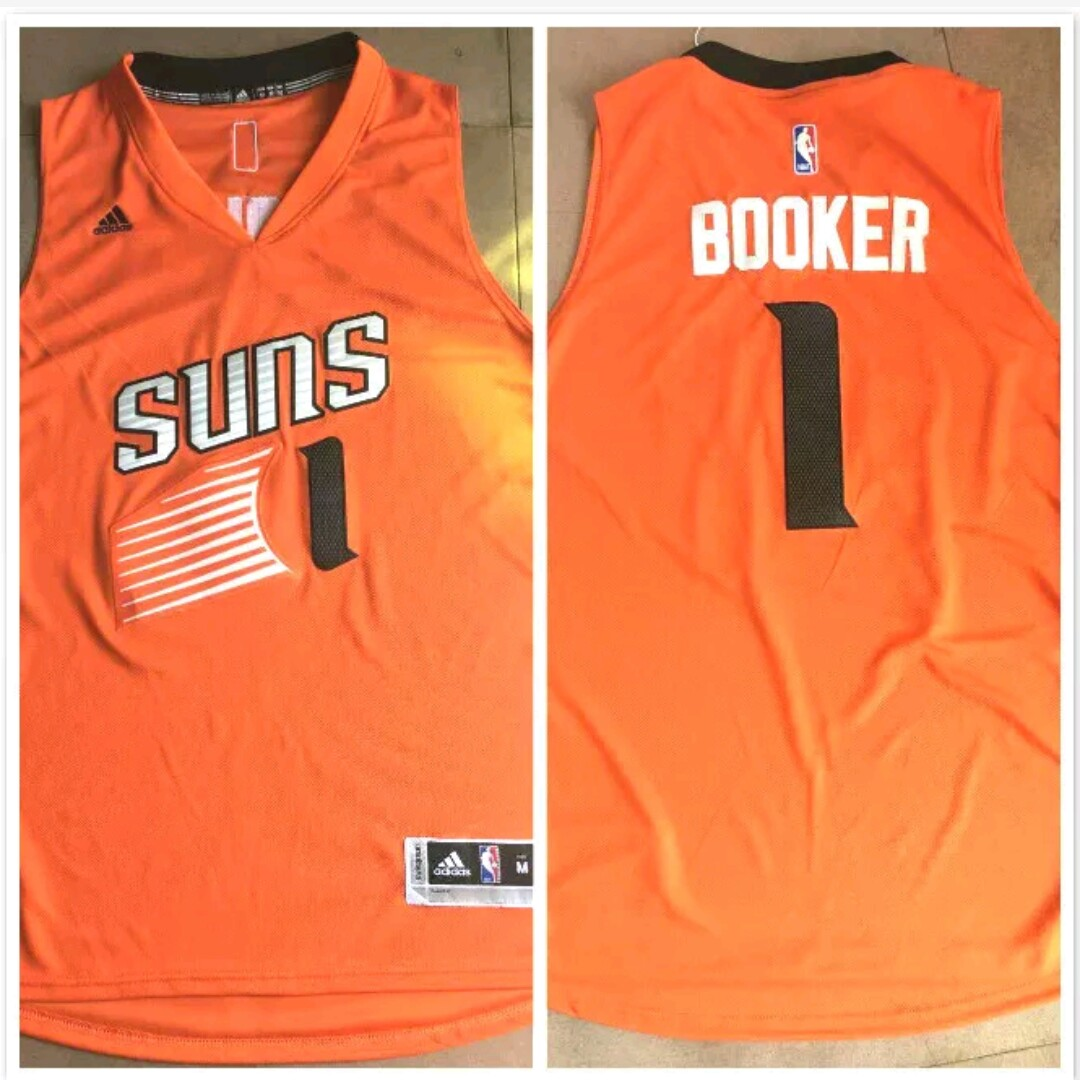 best loved 06896 51389 Devin Booker Away Jersey Brand new Shipping is... - Depop