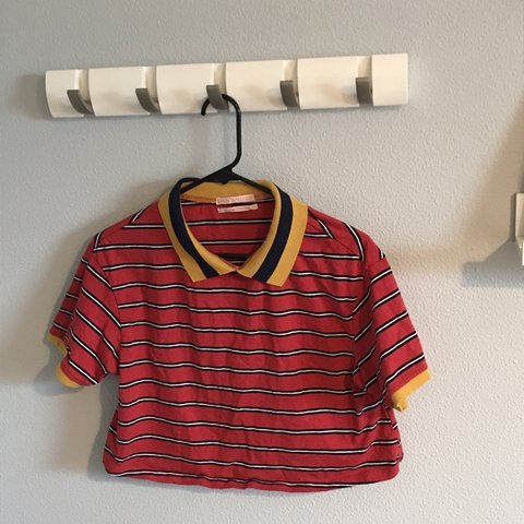 4d6925d272 @jannablockswanson. 3 months ago. Portland, United States. Super cute and  soft striped collared shirt from urban outfitters.
