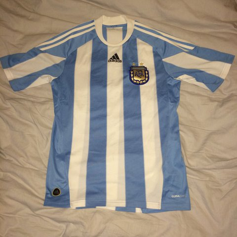 f4a180484 Authentic Argentina football jersey - size S. Great hasn t - Depop