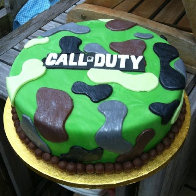 Call Of Duty Cake Perfect 0