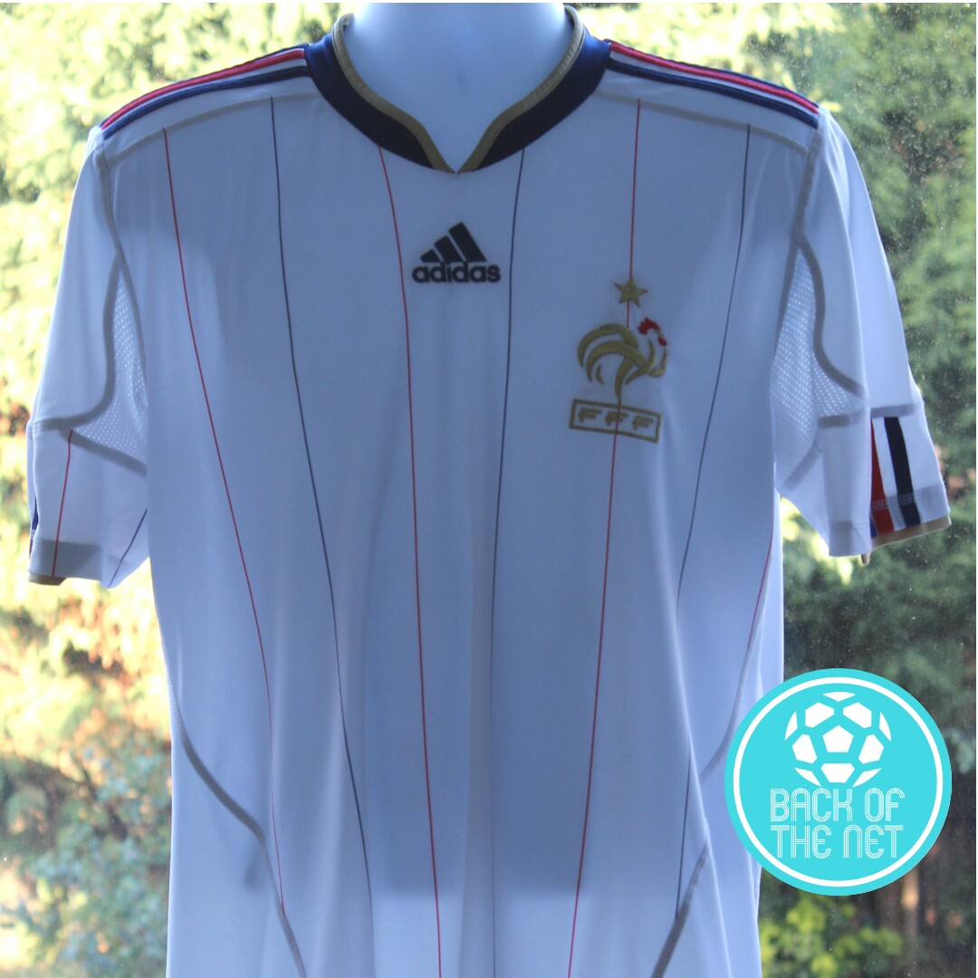 outlet store 4c5b3 3a5bd France national football shirt from 2010 World Cup... - Depop