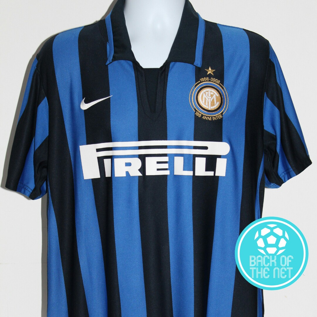 online retailer 1ebaf 100d8 Inter Milan centenary football shirt from the... - Depop