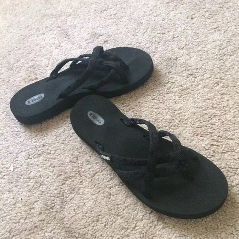 7abaf5f38 Teva strappy sandals. Feel like you re walking on clouds. a - Depop