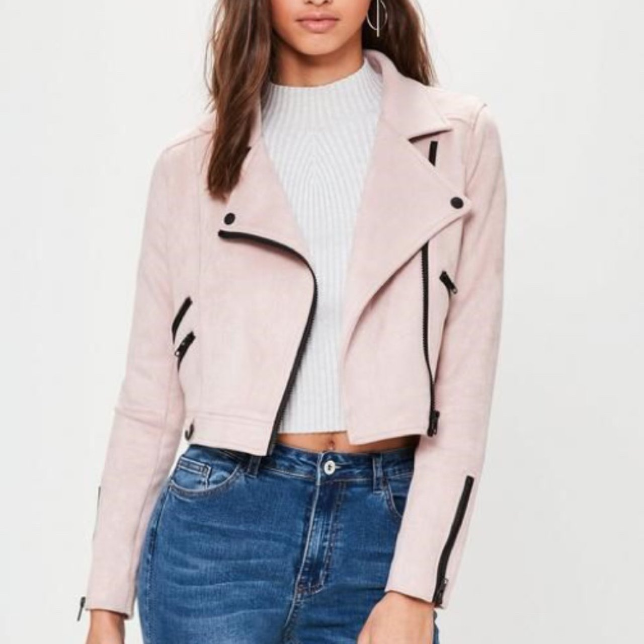 b154bf6a02a7 DISCOUNTED Missguided biker jacket. Currently out of stock 6 - Depop