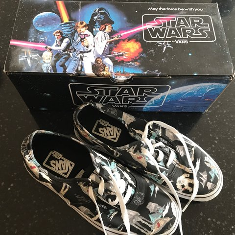 5fa48cd95e Awesome vans Star Wars shoes Men s size 6.0 and women s size - Depop