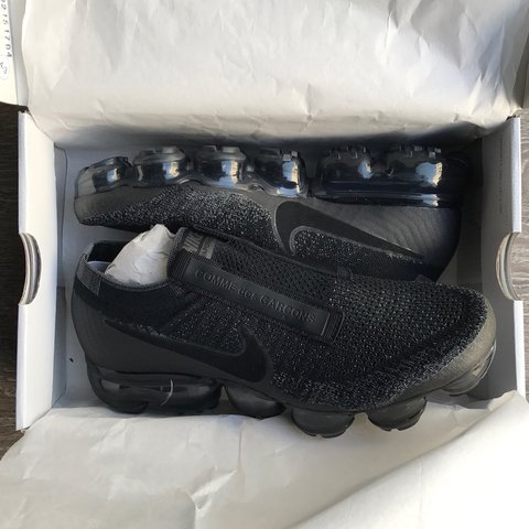 27231f201e9ea Comme des Garcons x Nike Vapormax Worn once for a Condition - Depop