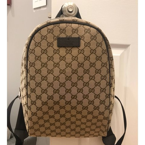 0a7666c0998 Gucci backpack it comes with the actual gucci bag from the - Depop