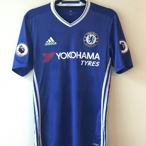 235dd323a Chelsea 2016-2017 Player Issue Home Football Shirt Size  for - Depop