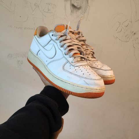 39e2a9a13f3a Vintage 2007 Nike Air Force 1 Super clean have been worn on - Depop
