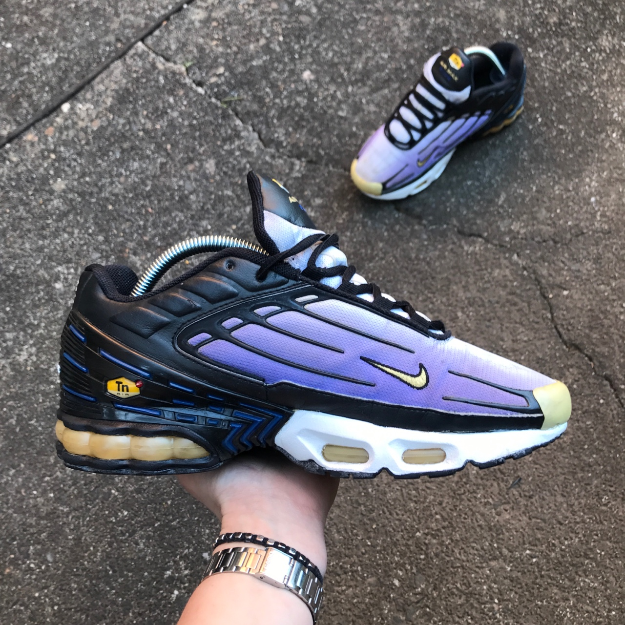 2006 Nike Tuned TN Air Max Plus III Hyper Blue /... - Depop