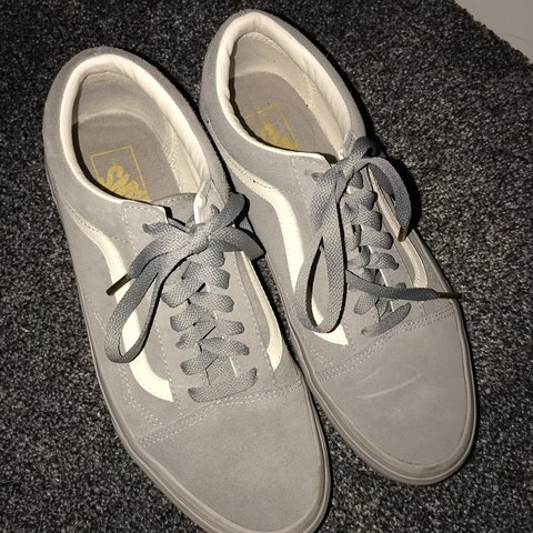 2025d359ee1 Vans all grey old skool trainers