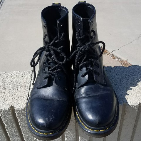 48b3c6beed91 DR. MARTENS Look like they've been to a few punk shows but - Depop