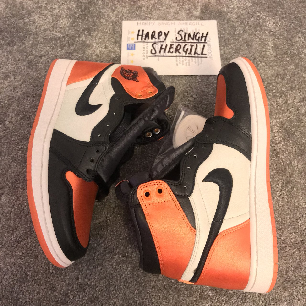 fb824daff9e71c Nike Air Jordan 1 Satin Shattered Backboards