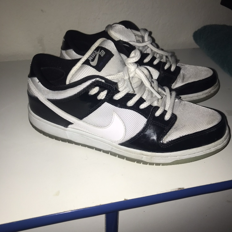 """Nike SB dunk low """"concord"""" Size 8 6/10"""