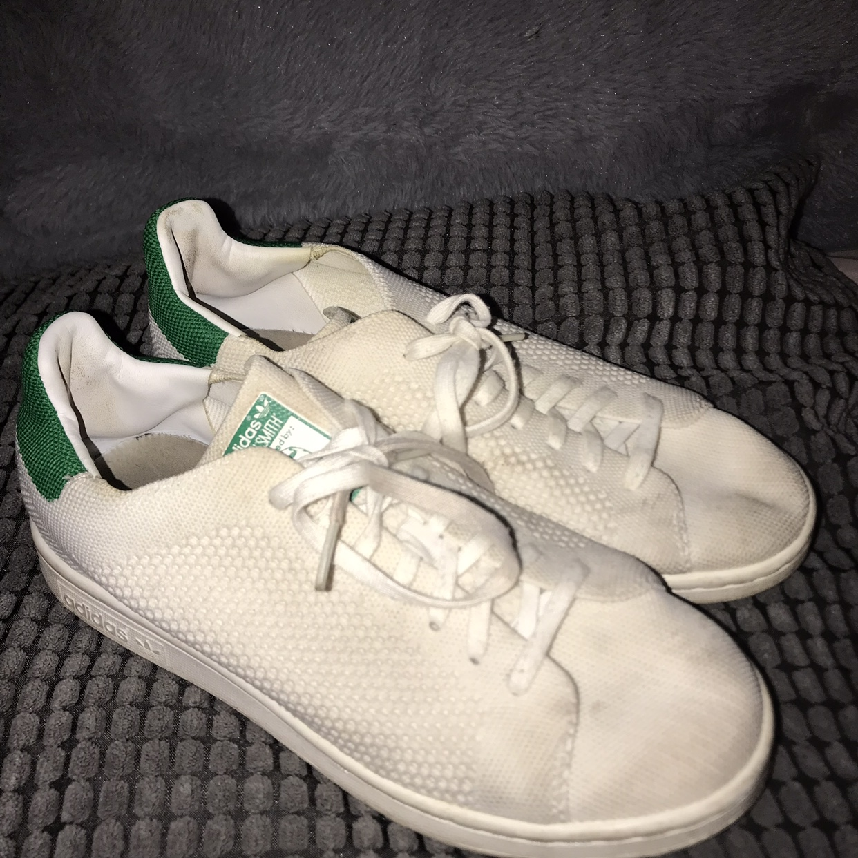 newest collection e7df9 a78e9 Adidas Stan Smith tennis trainers Size 5 Will he... - Depop