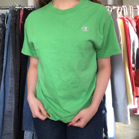 0b83cb52c9ff @erika68. in 7 hours. Chicago, United States. Vintage champion green t-shirt  ...
