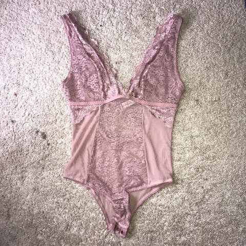 e0c68cb64d81 @lex04. 4 months ago. San Angelo, United States. Just Sexy Lingerie Pink  Lace Open Back Bodysuit ...