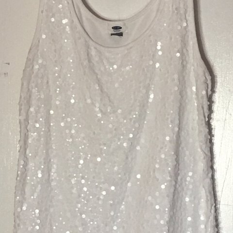 119bc07e4e6d7 Sequin front tank top from Old Navy. Size XL