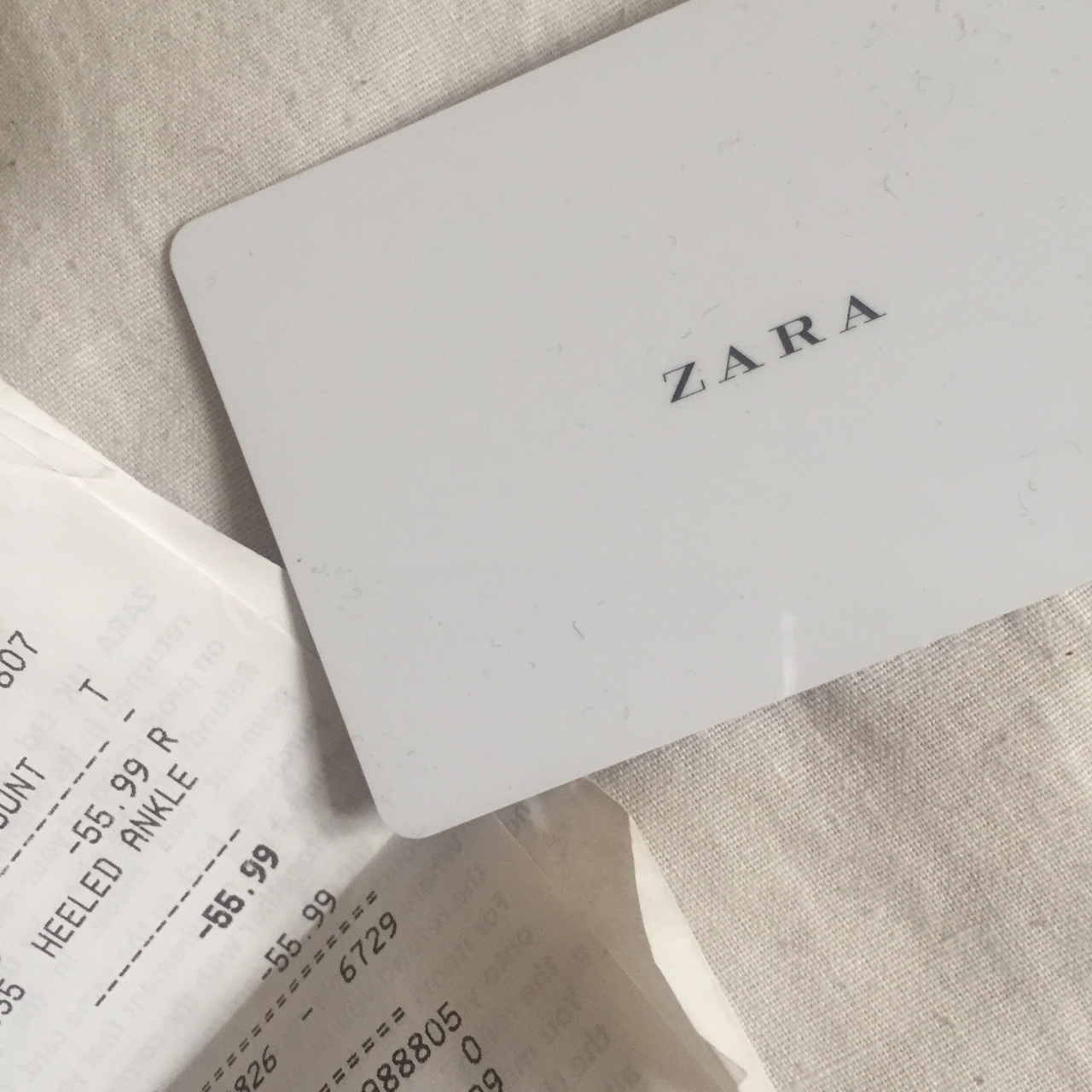 Zara Voucher Gift Card With 55 99 My Mum Bought Me