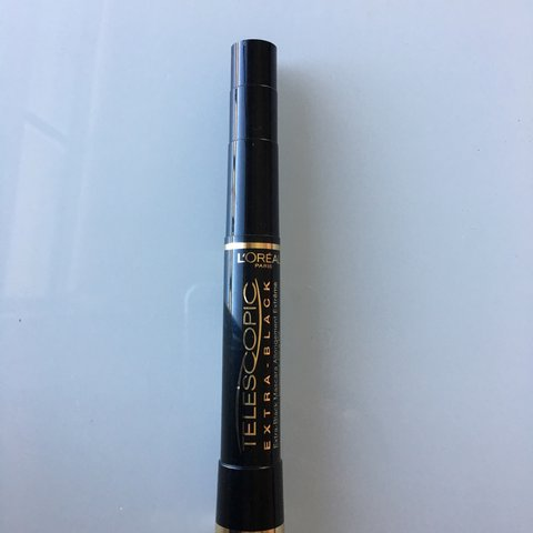 12320a1a028 L'Oréal telescopic black skinny mascara. Newly purchased for - Depop