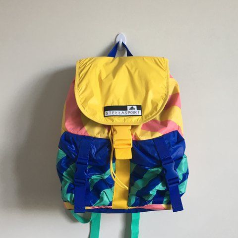 87a5859ae @audreyems. 2 years ago. Minneapolis, United States. Adidas Stella  McCartney backpack. Bought in Japan ...