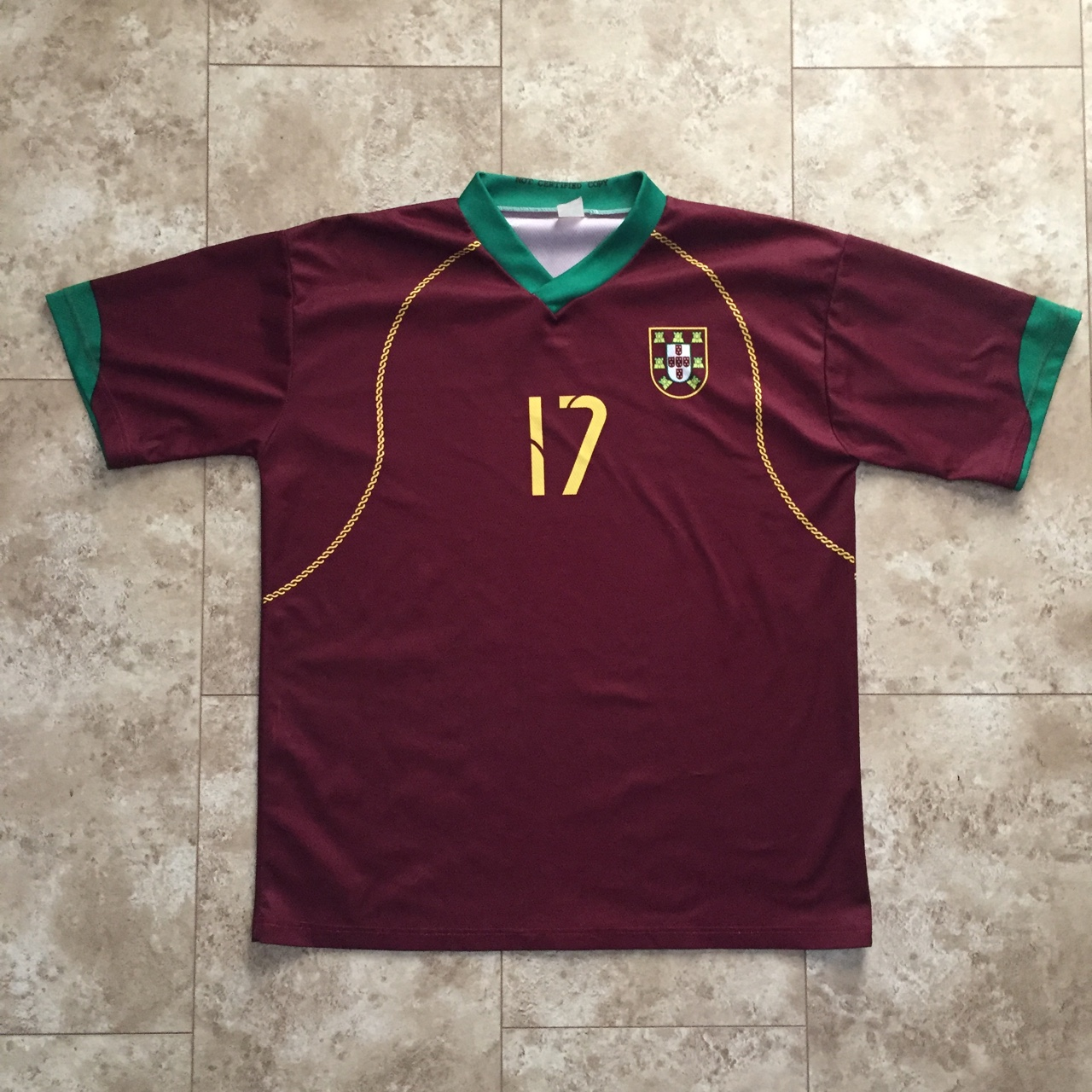 the best attitude 3587e 452e1 Cristiano Ronaldo Portugal National Team Jersey #17... - Depop